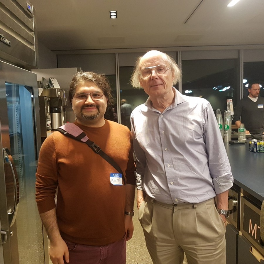 C++ inventor and me